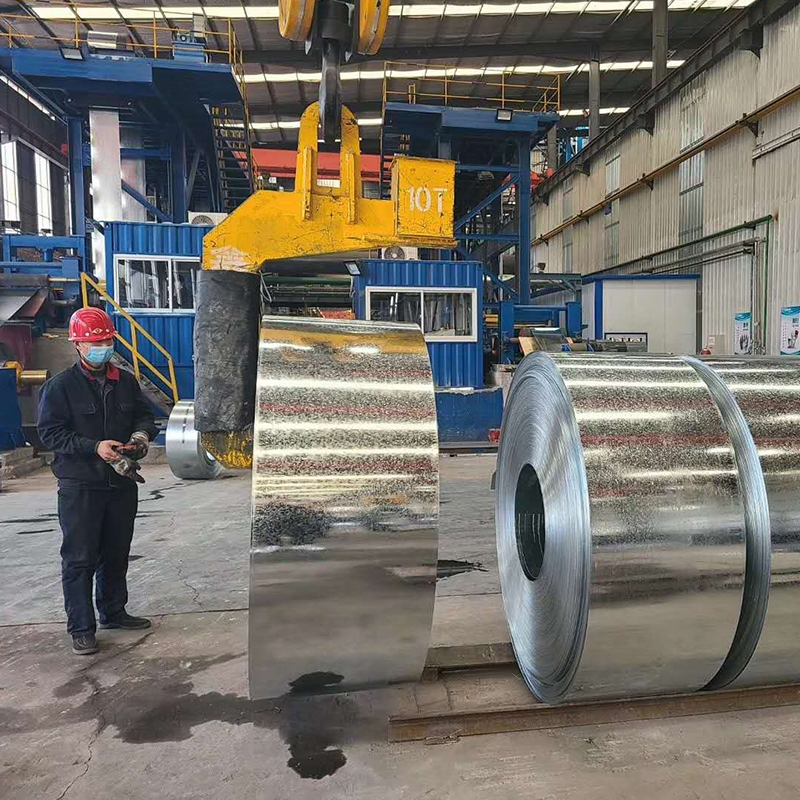 霸州镀锌带钢生产